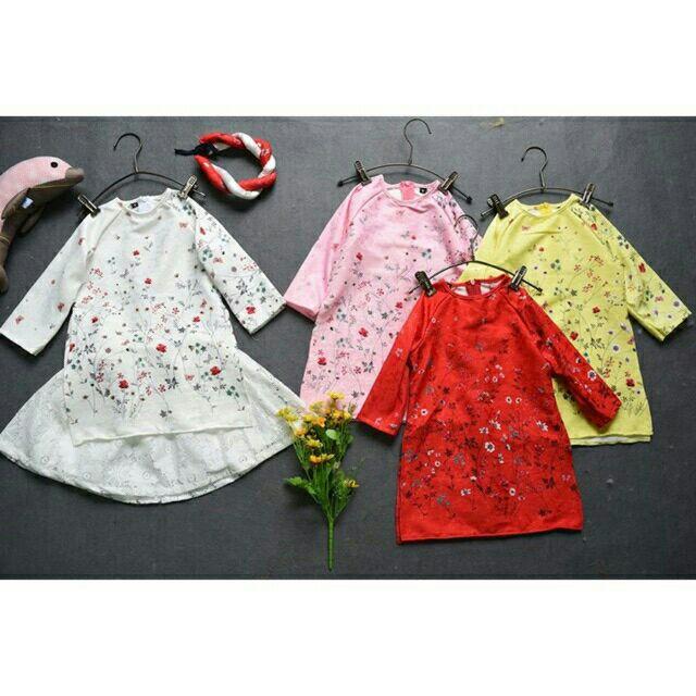 Áo dài hoa nhí kèm chân váy và mấn cho bé gái từ 10-20kg - 2632674 , 777835378 , 322_777835378 , 150000 , Ao-dai-hoa-nhi-kem-chan-vay-va-man-cho-be-gai-tu-10-20kg-322_777835378 , shopee.vn , Áo dài hoa nhí kèm chân váy và mấn cho bé gái từ 10-20kg