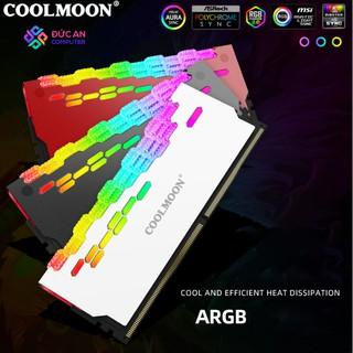 Tản Nhiệt Ram Led RGB Coolmoon RA-2 Daimond - Hỗ Trợ Đồng Bộ Hub Coolmoon và Mainboard thumbnail