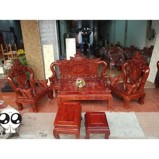 Bộ bàn ghế phòng khách gỗ lim