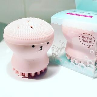 Mút rửa mặt massage bạch tuộc, nhỏ gọn, tiện lợi thumbnail