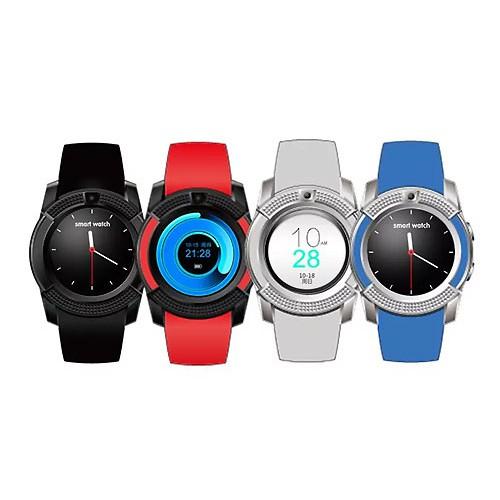 Đồng hồ thông minh gắn được sim thẻ nhớ mặt tròn V80 đủ màu - 3601536 , 1075618125 , 322_1075618125 , 239000 , Dong-ho-thong-minh-gan-duoc-sim-the-nho-mat-tron-V80-du-mau-322_1075618125 , shopee.vn , Đồng hồ thông minh gắn được sim thẻ nhớ mặt tròn V80 đủ màu
