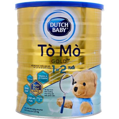 DUTCH BABY Tò Mò Gold 900gr - Dành cho bé từ 1 - 2 tuổi DATE 02/2020