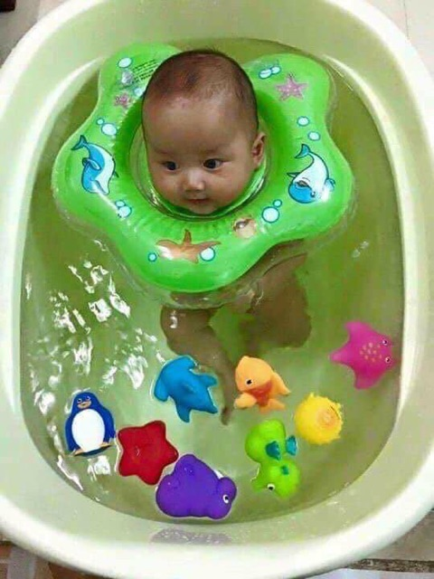 🎀🎀phao bơi đỡ cổ em bé