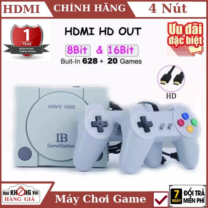 Máy Chơi Game 628 trò nes + 20 trò mới , Chuẩn HDMI , playstation , tay cầm game , máy chơi game , ps4 , bảo hành 1