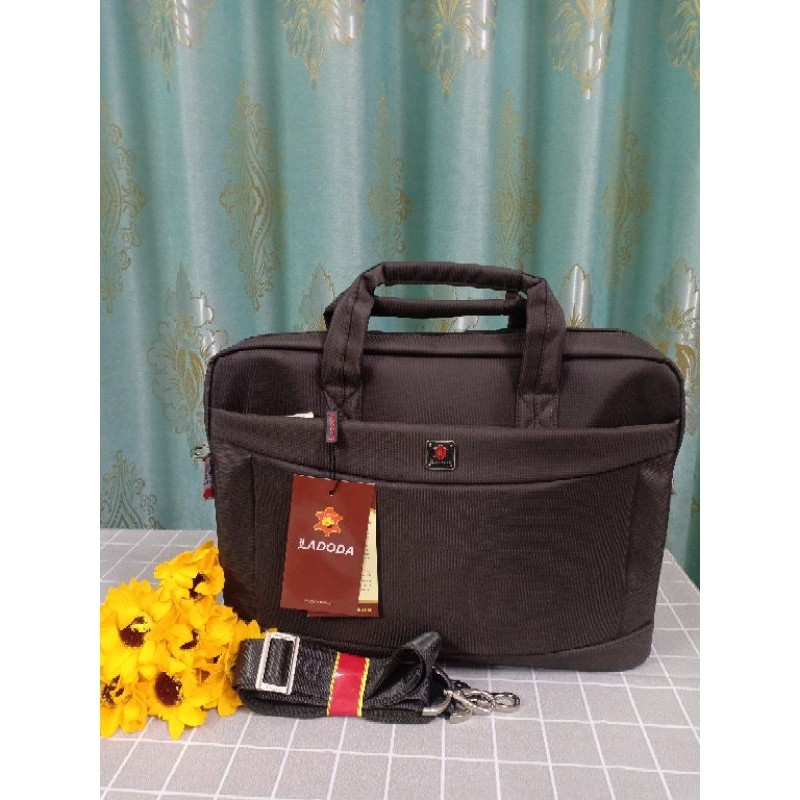 Túi dù/ cặp cán bộ đựng laptop cỡ trung (40 x 30 x 8 cm) Ladoda T11053
