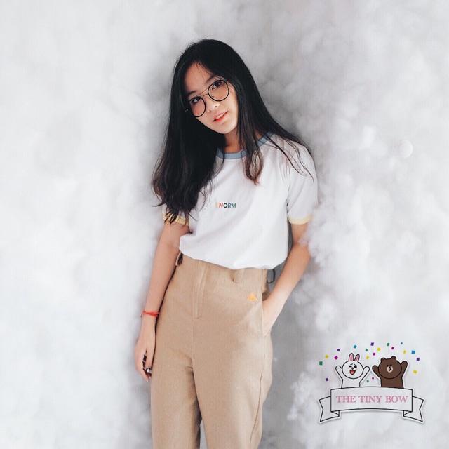 Quần dài nữ baggy ống rộng lưng cao Hàn Quốc Ulzzang
