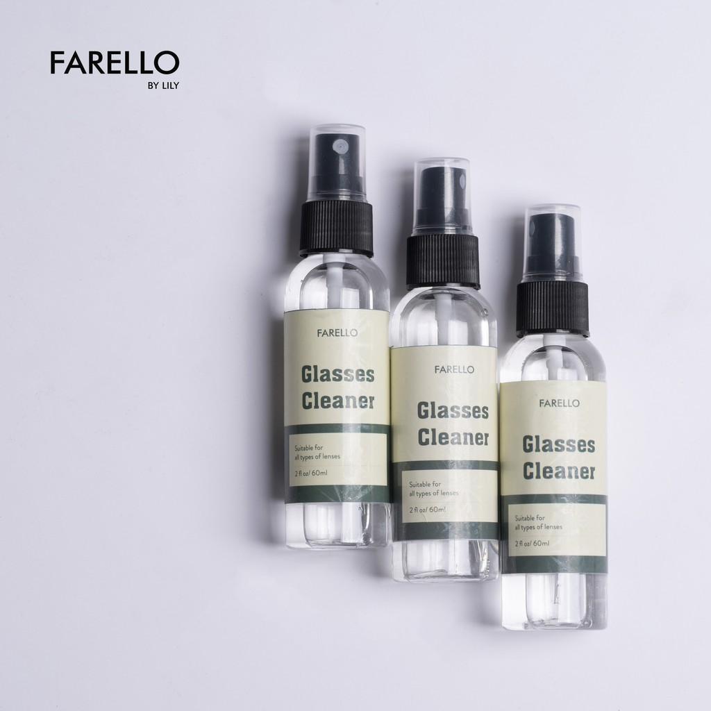 Nước xịt rửa mắt kính chuyên dụng FARELLO by Lily