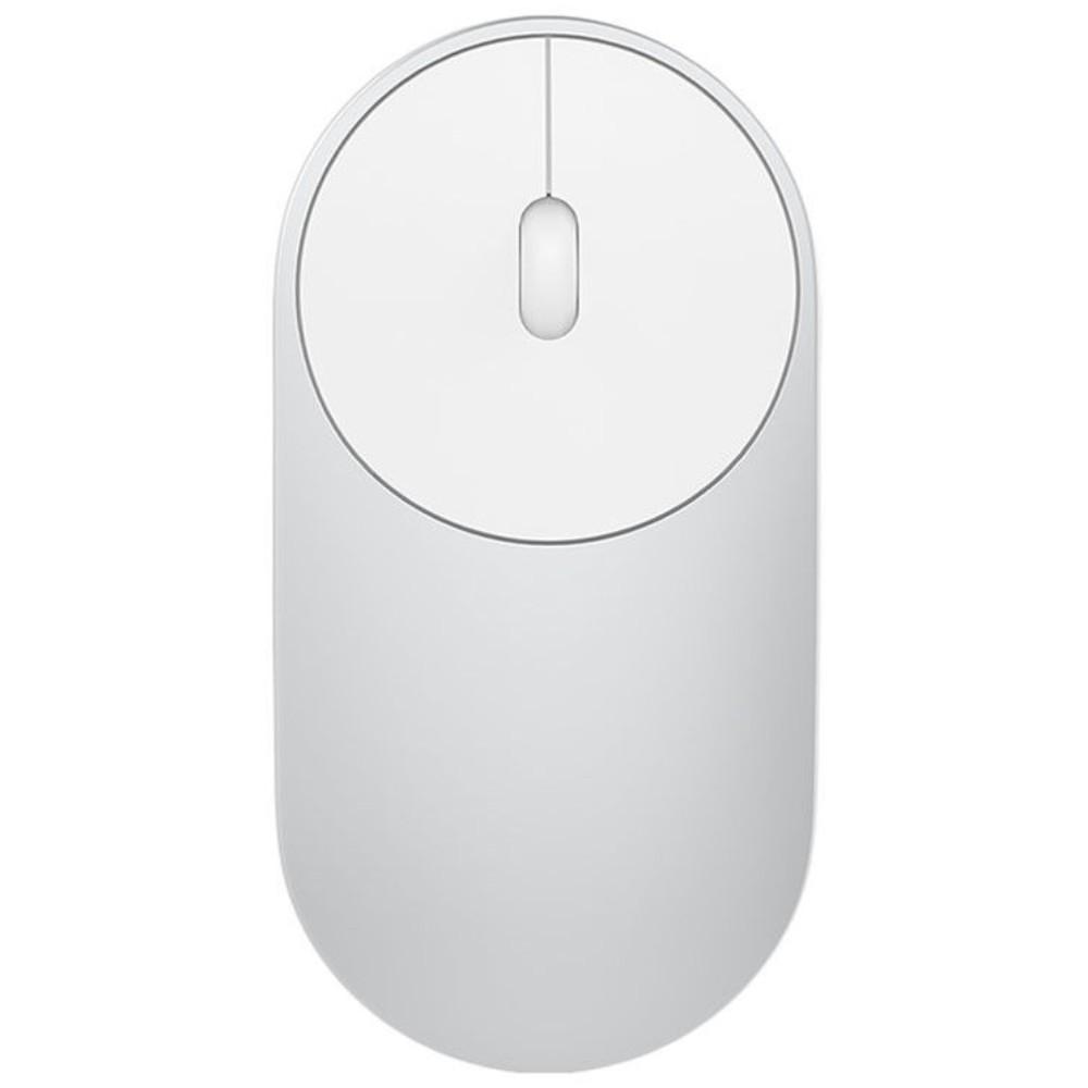 Chuột không dây bluetooth Xiaomi Mi Mouse, MiMouse (Bạc) - Hàng chính hãng