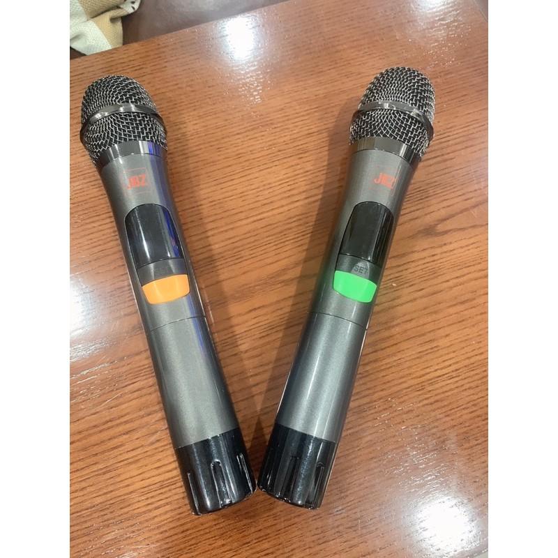 [Mã 267ELSALE hoàn 7% đơn 300K] Loa kéo mini JBZ JB-0806, loa karaoke 2.5 tấc kèm 2 mic