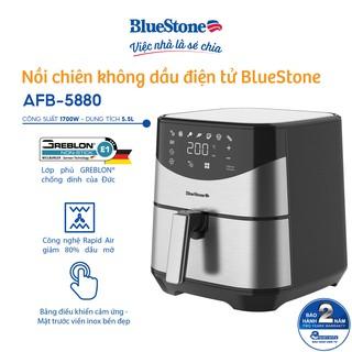 Nồi chiên không dầu điện tử BlueStone 5.5L AFB-5880 thumbnail
