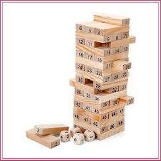 (DEAL NGẬP TRÀN)Bộ đồ chơi rút gỗ 54 chi tiết sáng tạo dành cho trẻ