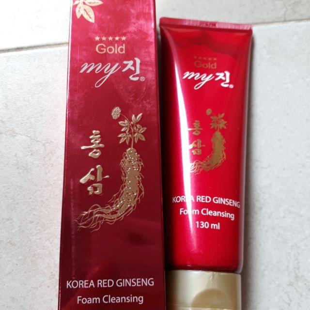 Sữa rửa mặt hồng sâm Hàn Quốc– My foam cleansing - 2929488 , 114949103 , 322_114949103 , 80000 , Sua-rua-mat-hong-sam-Han-Quoc-My-foam-cleansing-322_114949103 , shopee.vn , Sữa rửa mặt hồng sâm Hàn Quốc– My foam cleansing