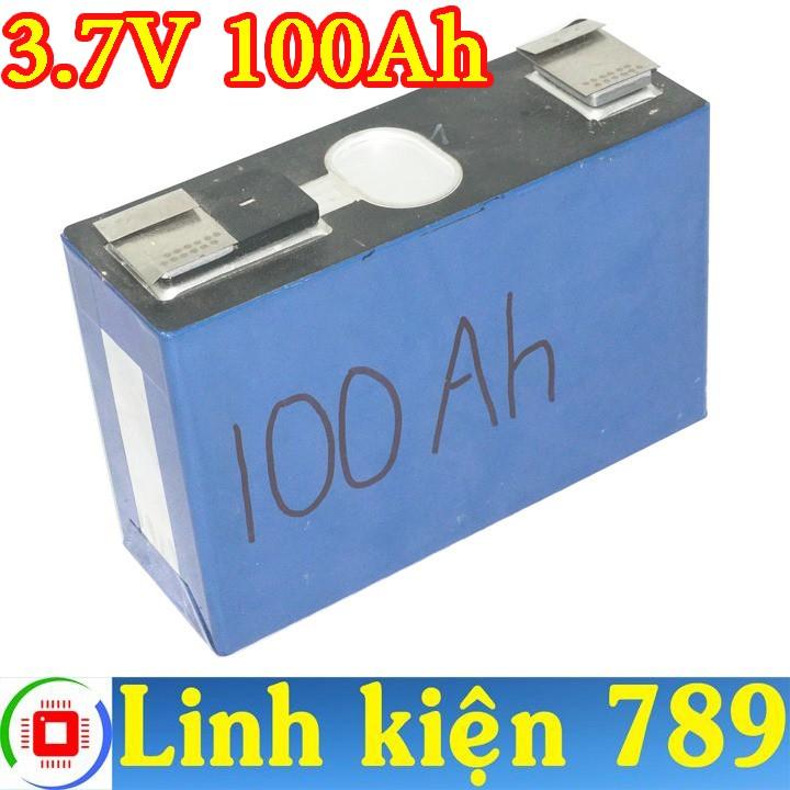 Pin Lithium pin phosphate 3.7V 100Ah