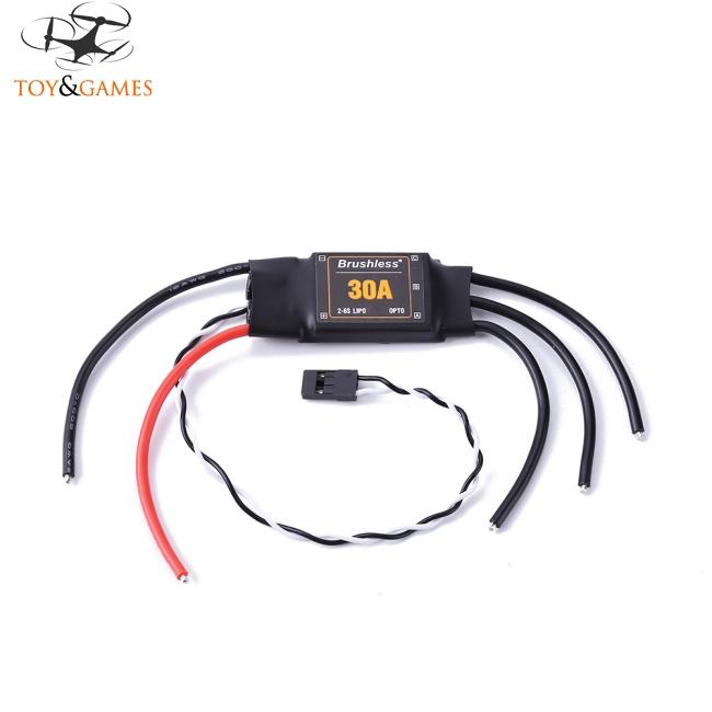 Brushless XRotor 2-6S Lipo 30A Brushless ESC No BEC High Refresh Rate for QAV210 250 Multi-axle