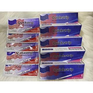 [Che tên sản phẩm] Que thử thai Quickstrip đỏ Mỹ chính hãng giúp phát hiện thai sớm và chính xác