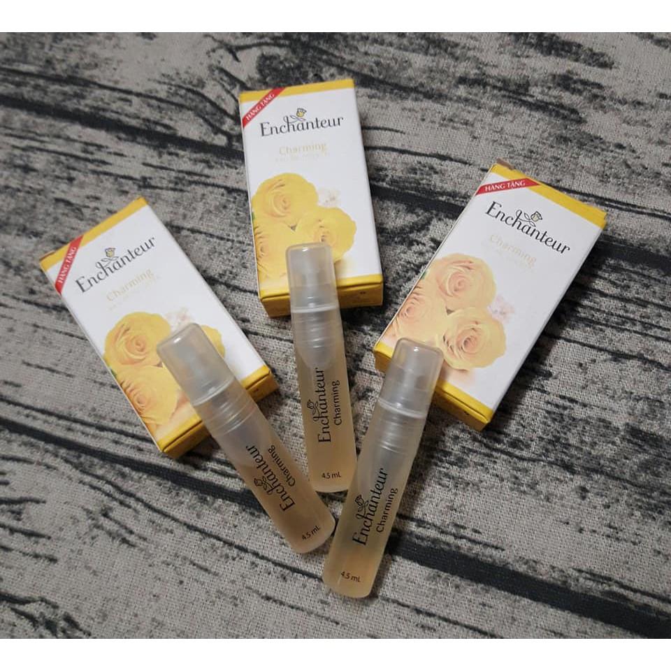 Tinh dầu Nước hoa Enchanteur Charming 4,5ml