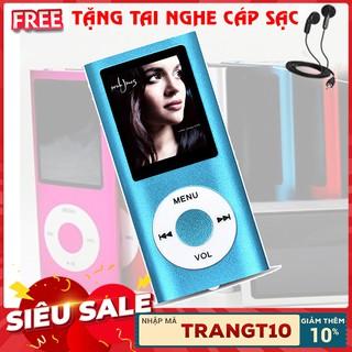 (NHẬP TRANMP4 – GIẢM 10%) Máy nghe nhạc mp4 chất lượng cao( tặng tai nghe và cáp sạc)
