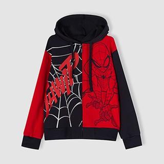 Áo khoác Spider-Man bé trai Rabity 5252