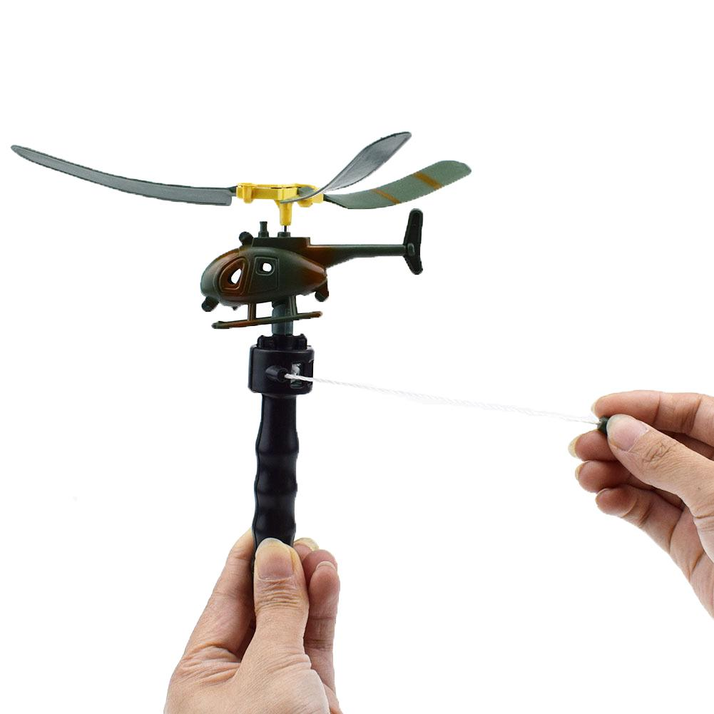 Plastic Handle Pull The Plane Aviation Cute Model Aircraft Kids Play Toy 1PC