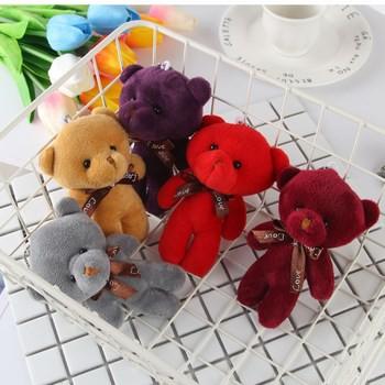 .Gấu bông có móc khóa nhỏ gọn