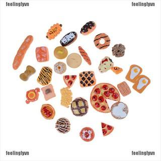 TOP Bộ 10 mô hình món ăn mini cho trang trí nhà búp bê DIY YO thumbnail