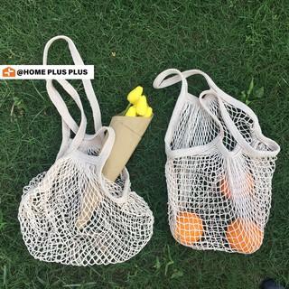 HOMEPLUS Mesh Shopping Bag Storage Bag Supermarket Vegetables Fruit Woven Bag