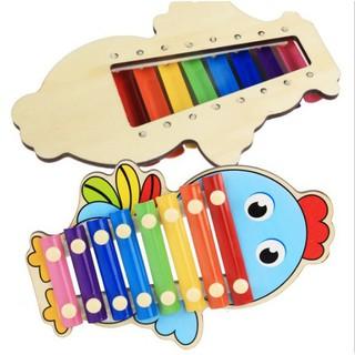 [HOT]Đồ chơi đàn gỗ Xylophone 8 Quãng mẫu con vật dễ thương – Toca Toys