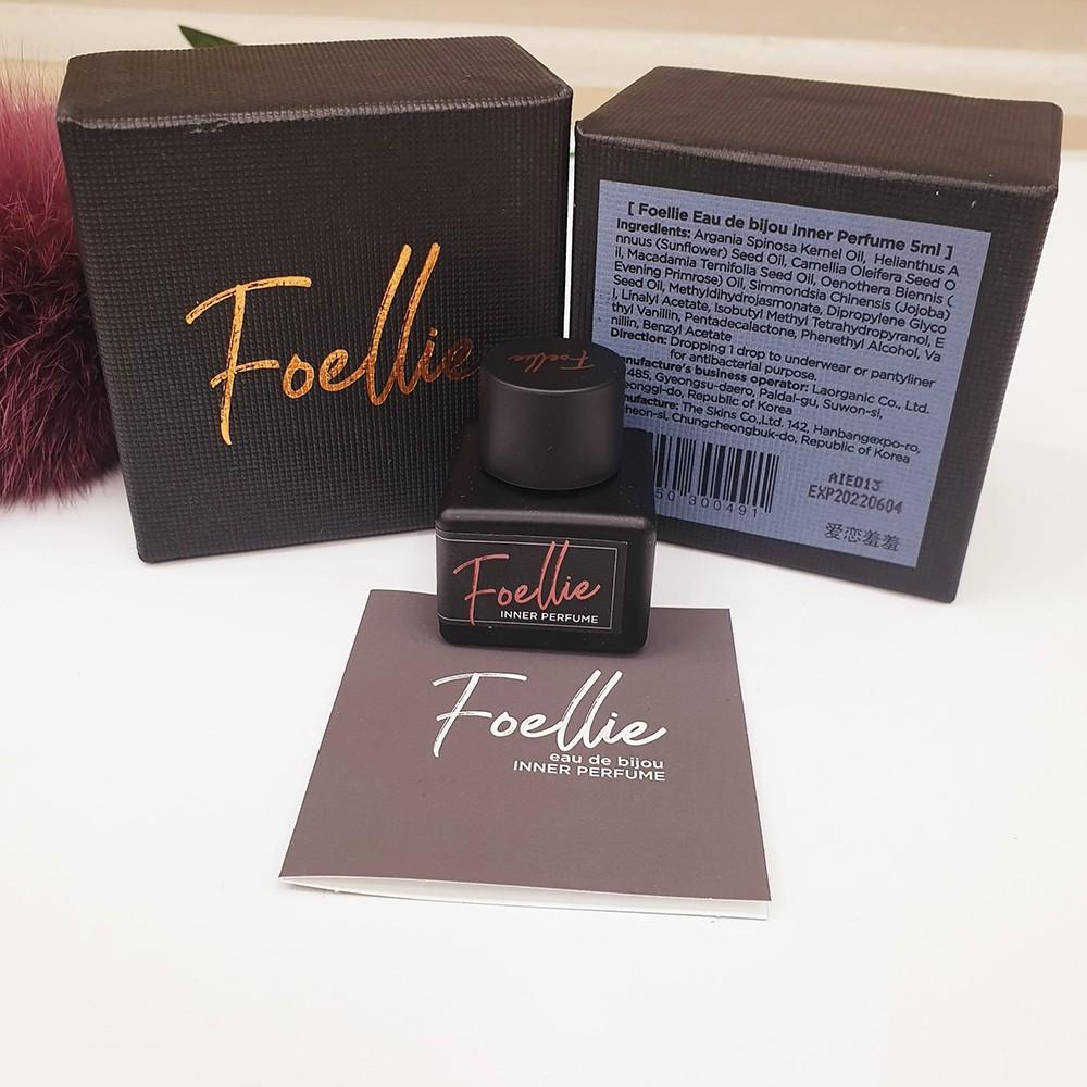 Tinh dầu - nước hoa vùng kín Foellie, hương hoa hồng 5ml