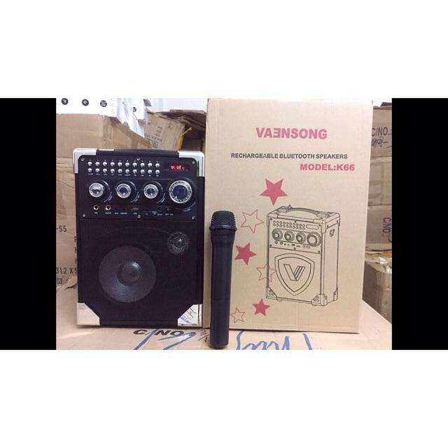Loa bluetooth hát karaoke kiêm trợ giảng xách tay đa năng + tặng Mic không dây K66 -2 - 3200811 , 831830291 , 322_831830291 , 780000 , Loa-bluetooth-hat-karaoke-kiem-tro-giang-xach-tay-da-nang-tang-Mic-khong-day-K66-2-322_831830291 , shopee.vn , Loa bluetooth hát karaoke kiêm trợ giảng xách tay đa năng + tặng Mic không dây K66 -2