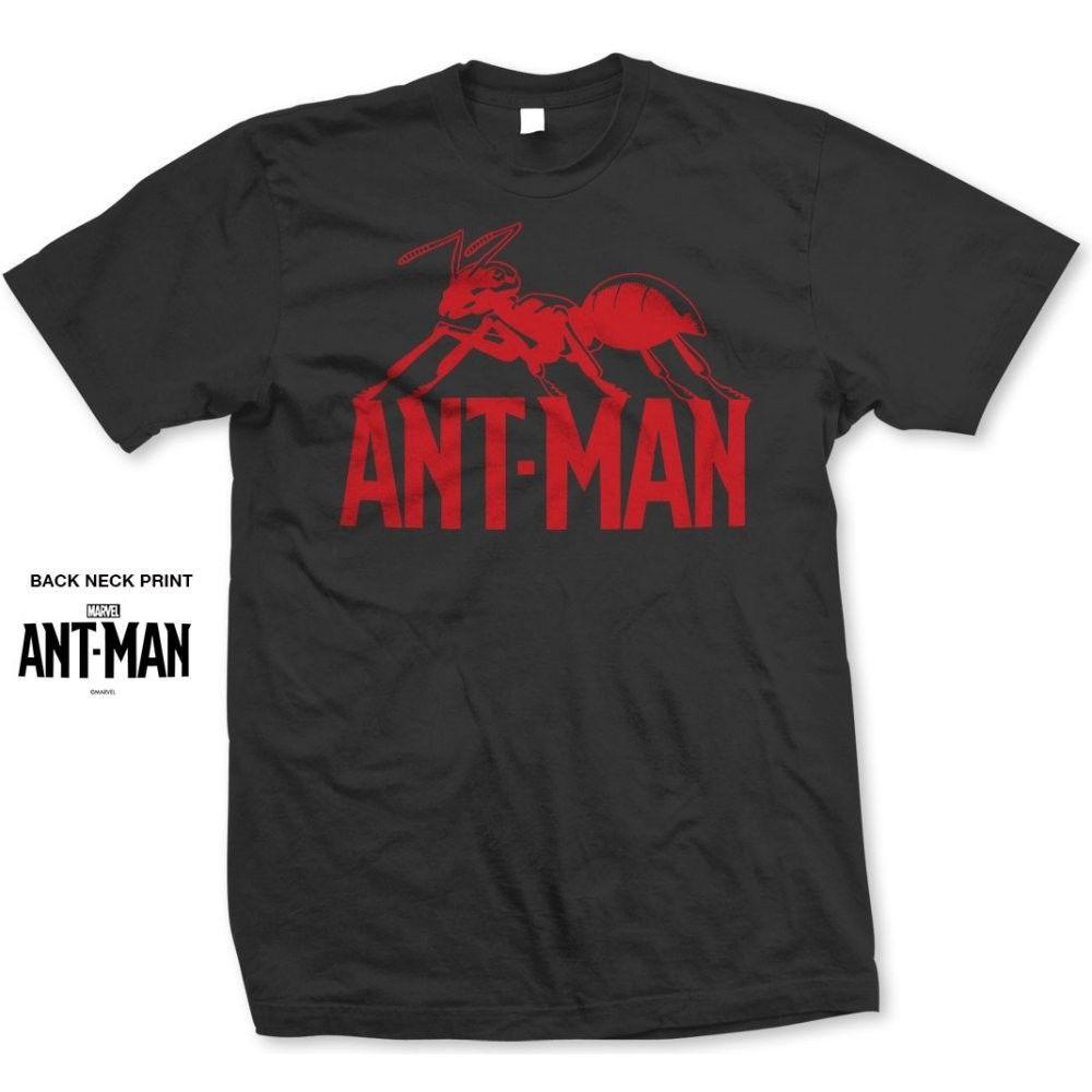 áo thun nam tay ngắn in chữ ant man cá tính