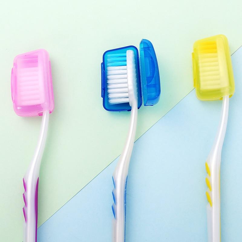 Nút bịt đầu bàn chải du lịch tiện dụng, nút bọc đầu bàn chải đánh răng (BBC05)