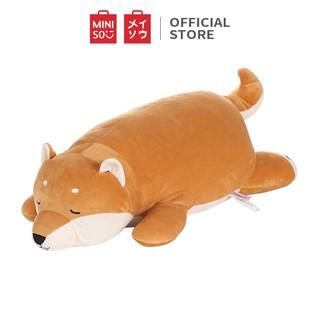 Chó Shiba nhồi bông Miniso (Nâu) - Hàng chính hãng