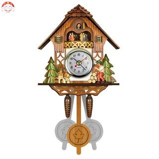 Đồng hồ con cúc cu treo tường xinh xắn tiện dụng