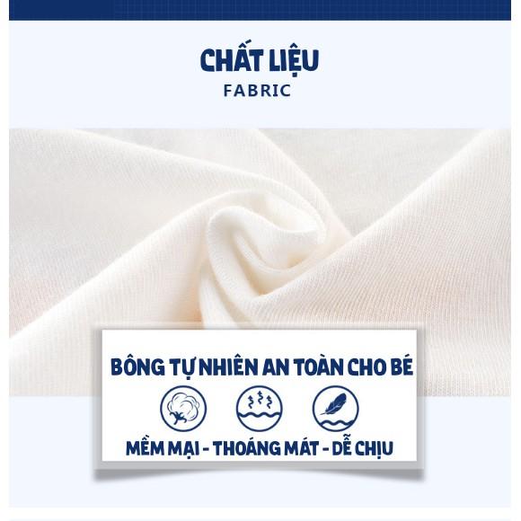 Áo bé trai 27KIDS áo thun cho bé in hình GẤU CUTE ngộ nghĩnh chất cotton hàng xuất Âu Mỹ