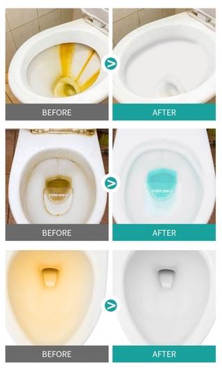 Viên Sủi Vệ Sinh Bồn Cầu Khử Mùi Màu Vàng 6