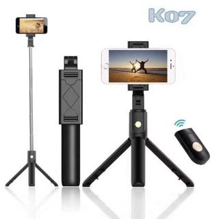 Gậy tự sướng 3 chân Bluetooth K07 có remote từ xa /OP12