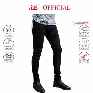 Quần jean nam đen trơn co giãn, chất vải jean mềm mịn, dáng ôm, quần jean nam cao cấp Shopnguyenhanh