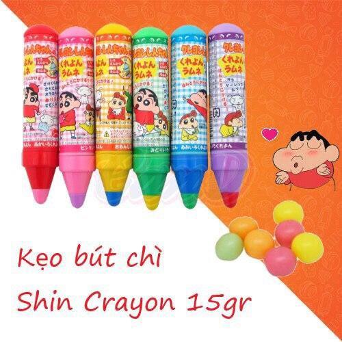 Kẹo bút chì Shin Crayon 15gr