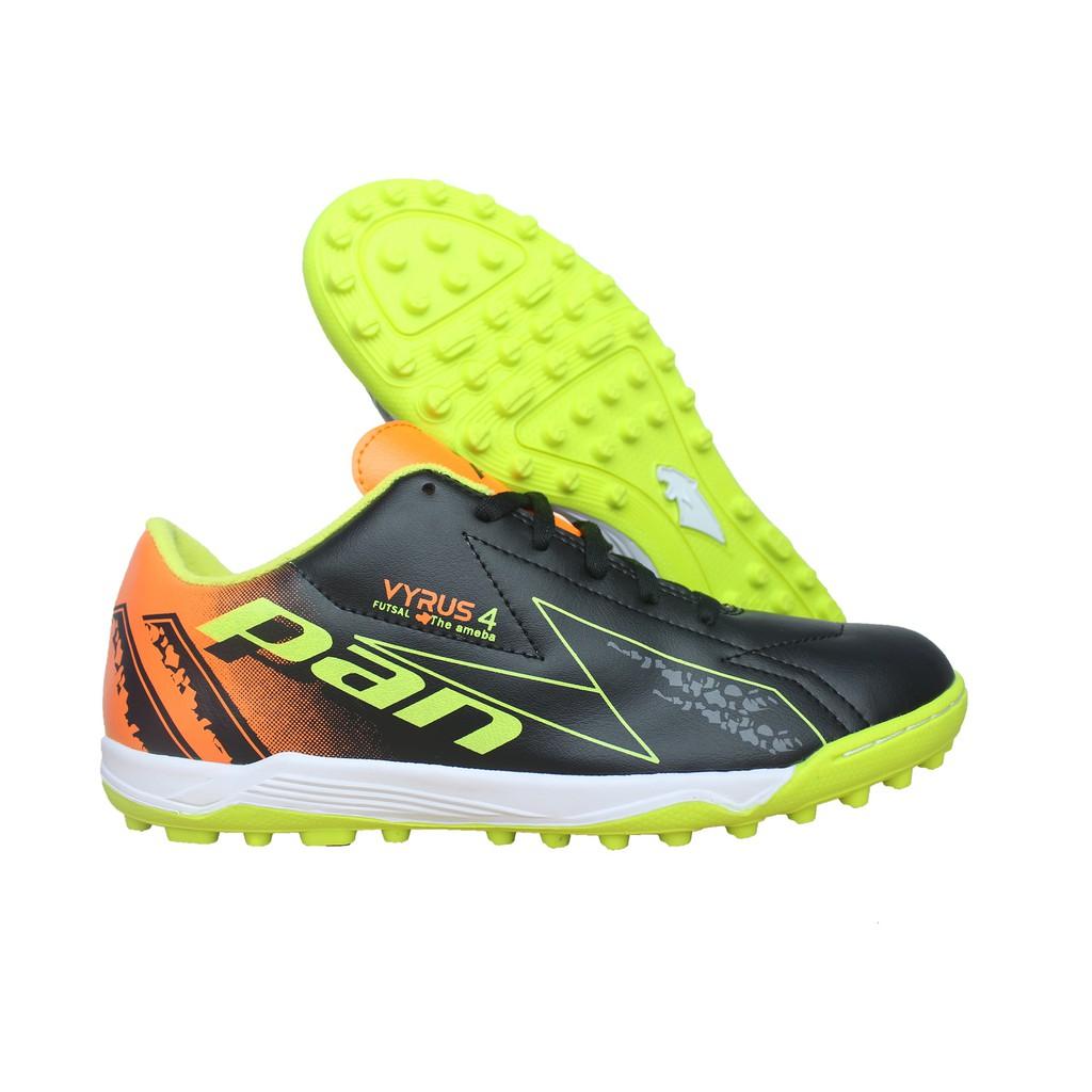Giày đá bóng PAN Vyrus 4 TF (Đen phối xanh lá) - PAN Thái Lan chính hãng