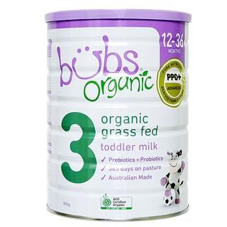 Sữa Bubs Organic Grass Fed Follow-on Formula Số 3 thumbnail