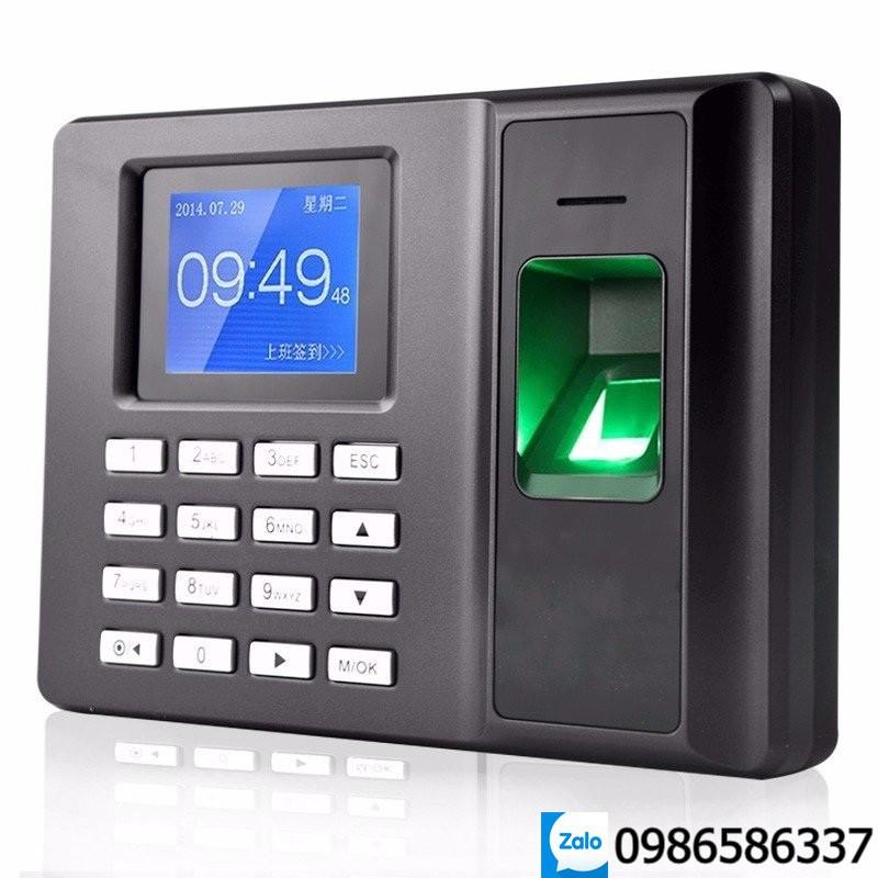 Máy chấm công quét vân tay độc lập không dùng phần mềm, máy scan vân tay check-in văn phòng công ty ELITEK 6699