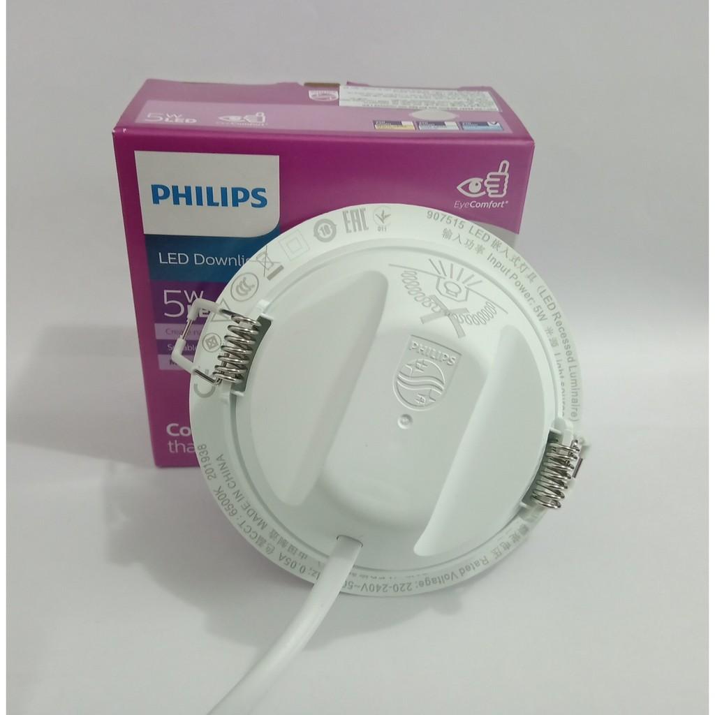 Đèn Led âm trần Philips 59447 Downlight Meson 5W D90 6500K