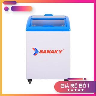 [Hàng mới] Tủ đông kính lùa cong Sanaky VH-182K