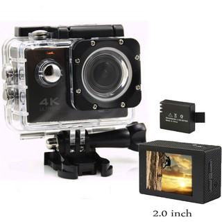 Camera hành động Waterproof ACTION CAMERA WIFI MultiPurpose 4K ULTRA HD (Đen) thumbnail