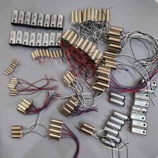 Các loại động cơ motor mini dùng cho đồ chơi điều khiển: drone flycam xe thuyền fpv …