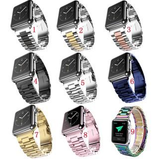 Dây đeo Apple Watch Strap 38/40mm 42/44mm Dây liên kết bằng thép không gỉ cho iWatch Series SE 6/5/4/3/2/1