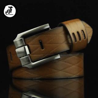 [ XẢ KHO 3 NGÀY ] Dây Nịt, Thắt Lưng Mặt khoá bằng hợp kim mạ điện siêu bền AT-Men's Fashion TL02