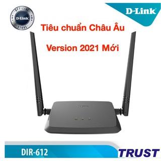 [Tiêu chuẩn Châu Âu ] Bộ phát wifi N 300Mbps Wilreless Router D-LINK DIR-612 - Version Mới 2021 - Hàng chính hãng thumbnail
