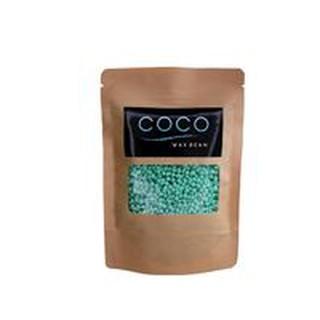 1 sáp wax lông Coco Wax Bean (free que wax) sáp xanh