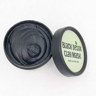 Mặt Nạ Đất Sét Than Hoạt Tính Thanh Lọc, Thải Độc Da - Detoxifying Charcoal Clay Mask - Zakka Naturals thumbnail
